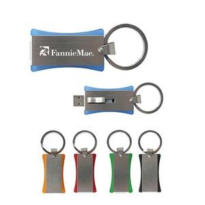 4GB USB Flash Drive Keychain