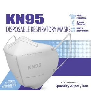 Folding Particle Respirator Mask KN95 (EUA Approved)